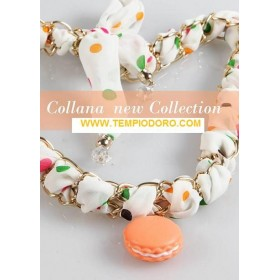 COLLANA SECRET OF MACARONS FOULARD OR2 MCSKITFL