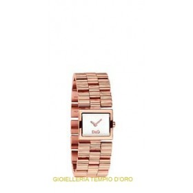 OROLOGIO D&G CHECK ROSE' DW0341