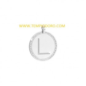 MY WORLD ALPHABET SILVER PENDENTE SWRPAL12